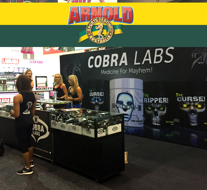 Arnold-sports-festival-australia-2017-cobra-labs-booth
